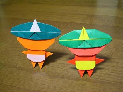 クリスマス 折り紙 折り紙 鬼 : onibas.nobbyspage.net